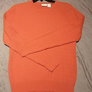 Kim Rogers cable knit sweater